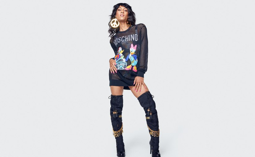Moschino And H&M Collaborate To Bring Mickey Mouse And MTVBoldness