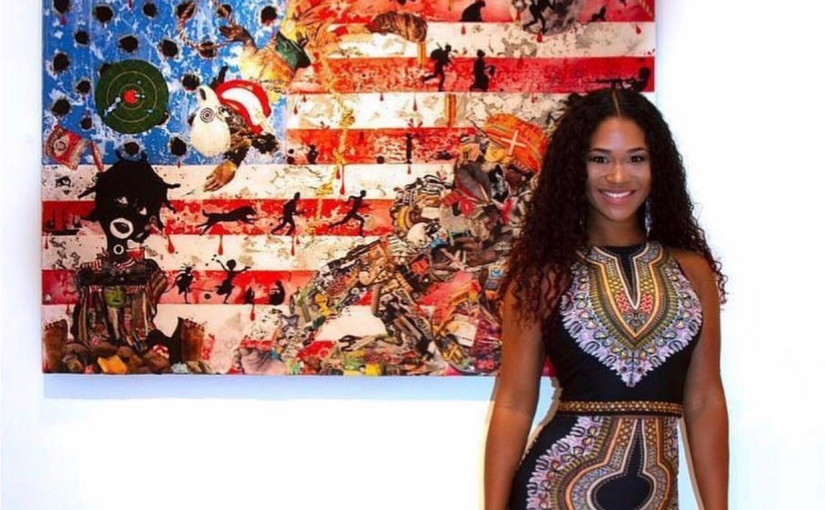 """Visual Artist Penda Lets Her Art Speak for Itself in Her """"Made In America""""Exhibition"""